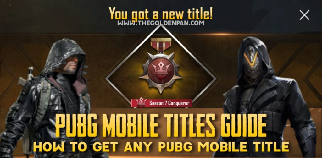 PUBG Mobile Titles, PUBG Mobile Title, How to get PUBG Mobile Titles, PUBG Mobile Titles Guide, How to Get any PUBG Mobile Title, PUBG Mobile Tips,PUBG Mobile Tricks